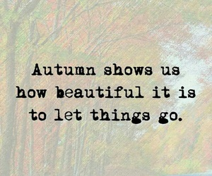 quote and autumn image