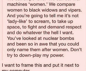 feminism, equality, and tumblr image
