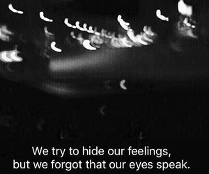 quote, eyes, and sad image