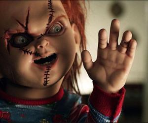 Chucky, creepy, and dark image