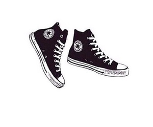 converse, transparent, and overlay image