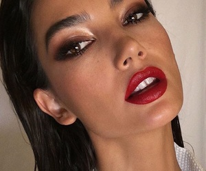 angel, gloss, and Lily Aldridge image