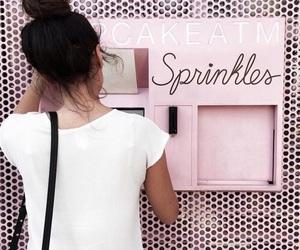 pink, cupcake, and girl image