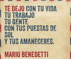amor, mario benedetti, and frases image