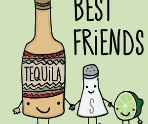 best friends and tequila image