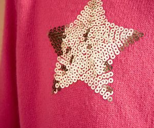 sequin, star, and sweater image