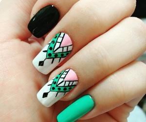 girls, girly, and nails image