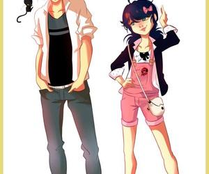 animation, couple, and kawaii image