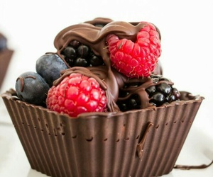 chocolate, comida, and eat image