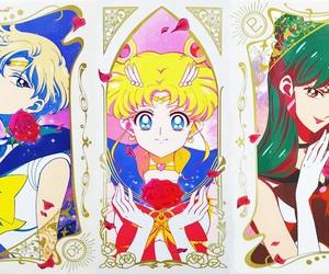 anime, sailor moon, and sailor moon crystal image