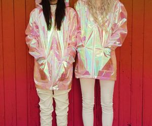 style, grunge, and holographic image