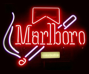 marlboro, cigarette, and light image