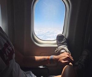 couple, travel, and boy image
