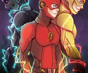 d.c., the flash, and eobard thawne image