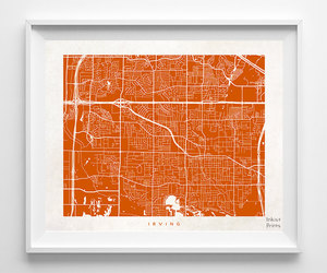etsy, texas print, and home goods image