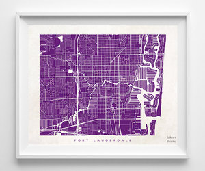 giclee print, decor idea, and map poster image
