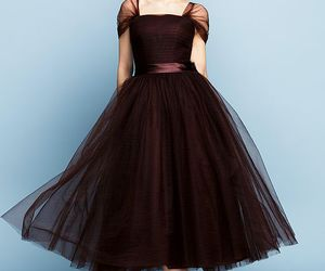 brown, chocolate, and dress image