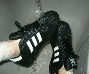 adidas and blanco y negro image