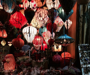 lantern, Vietnam, and hoi an image