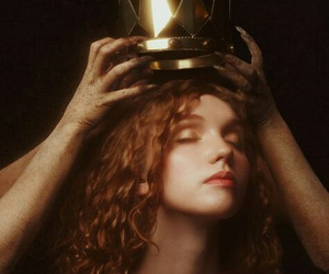 crown, gold, and red head image