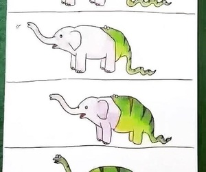 funny, dinosaur, and animal image
