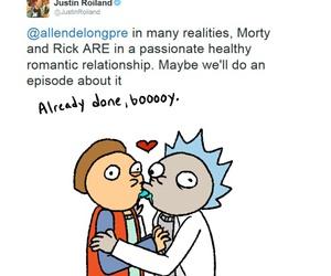 OMG and rick and morty image