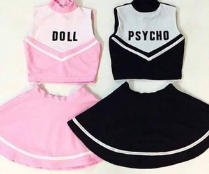 cheer, doll, and Psycho image