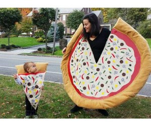 pizza, baby, and costume image