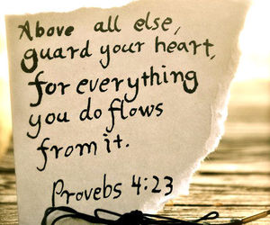 quotes, heart, and bible image