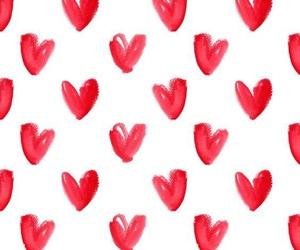 amor, pantalla, and rojo image