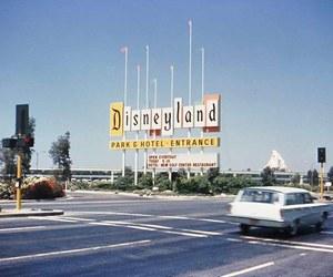 disneyland, disney, and retro image