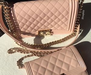 bag, chanel, and style image