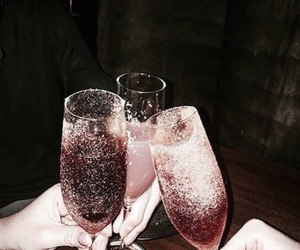 champagne, champaign, and drinks image