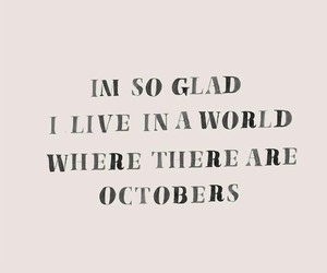 fall, october, and quotes image
