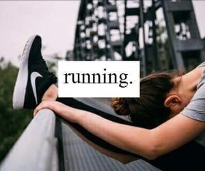 nike, running, and motivation image