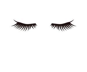 black and white, eyes, and fashion image