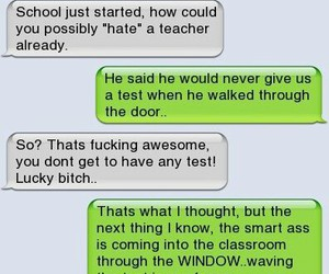 lol, funny, and teacher image