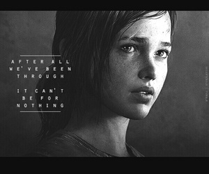 ellie, tlou, and last of us image
