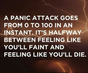 anxiety and panic attack image