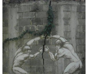art, wall, and street art image