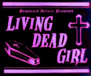 dead, grunge, and living image