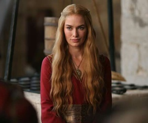 game of thrones and cersei lannister image