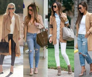neutral fall outfits image