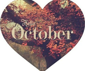 welcome and hello october image