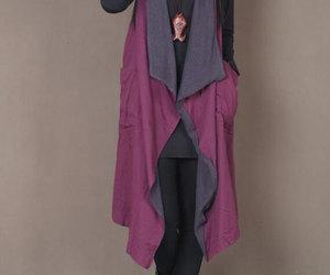 etsy, sleeveless, and fashion vest image
