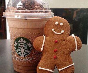 starbucks, christmas, and food image