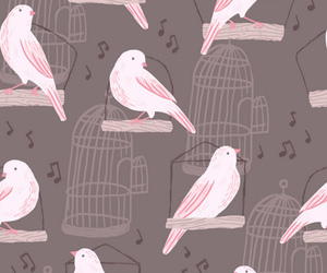 birds and pattern image