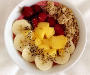 bowl, breakfast, and snack image