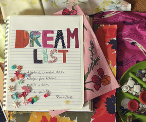 Dream, list, and dream list image