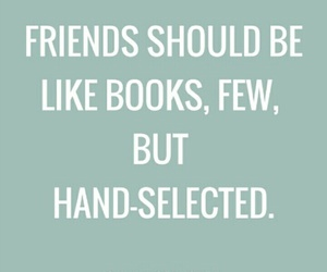 books, friendship, and quotes image